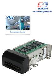 Lector motorizado para el quiosco, lector de la tarjeta magnética del parte movible de Smart Card con el interfaz RS232