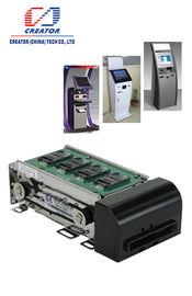 Lector de tarjetas motorizado RFID ISO14443 con el interfaz RS232, lector de tarjetas de la raya magnética