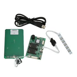 Escritor elegante para DOS tarjetas del SAM, lector del lector del coche del RFID USB de tarjetas sin contacto del RF